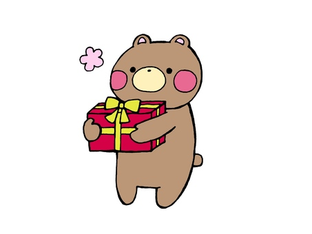 Present and bear 2 2