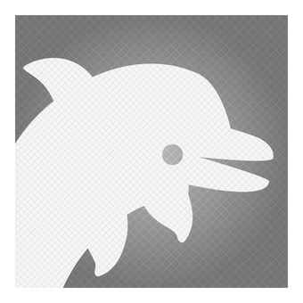 Business icon (dolphin)