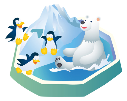 Shirokuma and penguin