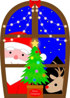 Christmas window 1