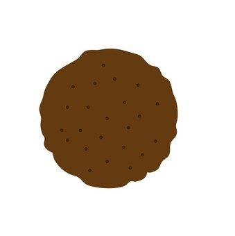 Round hamburg