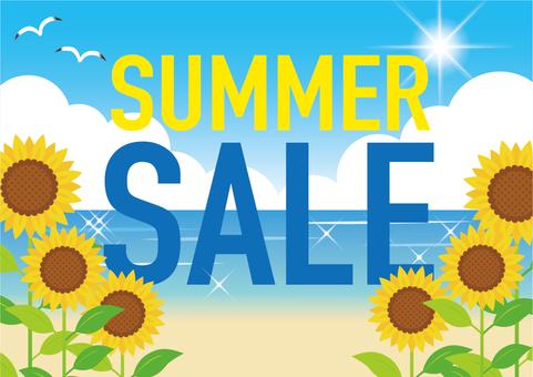 夏季銷售海報