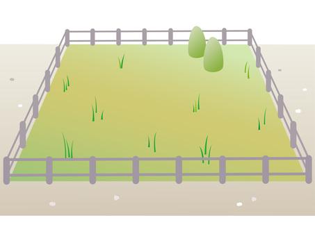 70113. Sold land, grass