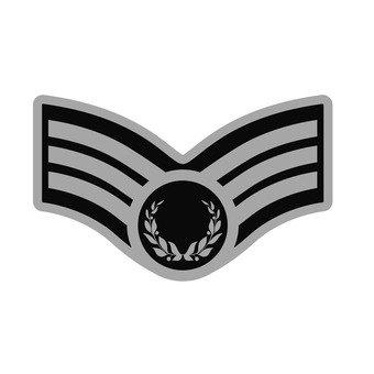 Patch - Car Emblem (Silver)