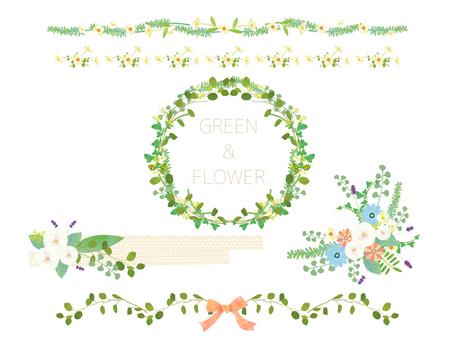 Flower line set