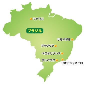 브라질지도