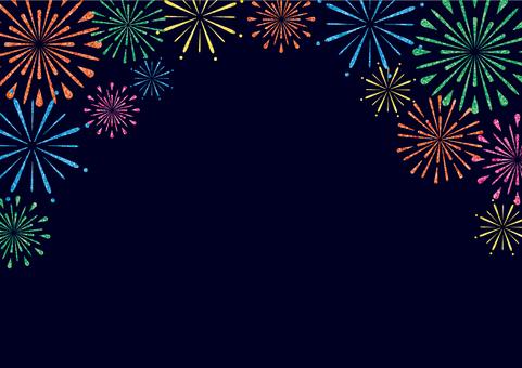 Fireworks frame (top)
