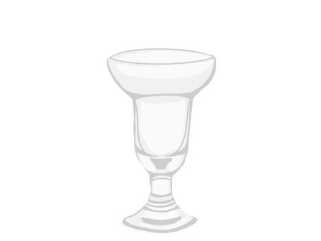 Parfeglas in round form