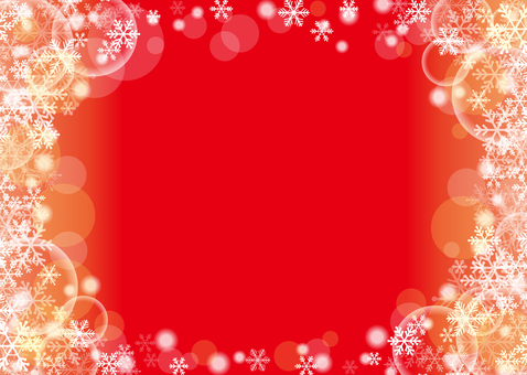 Snow crystal background (red and side)