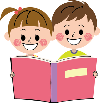 Picture book pink girls boys male and female children