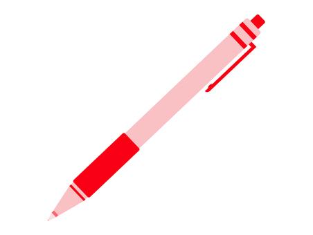 Red ballpoint pen