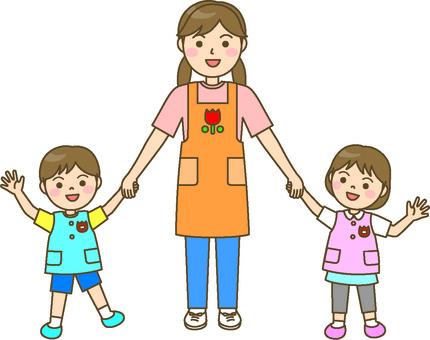 保育士 씨와 아이들 1