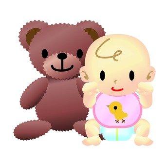 Baby & Plushie 02
