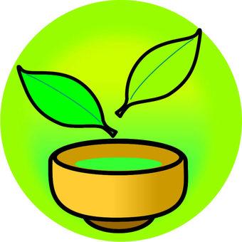 Tea and tea leaves · 2 sheets