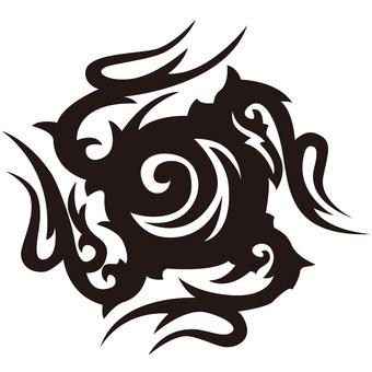 Tribal - TATOO Pattern - 006