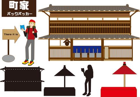 Machiya, foreign tourist