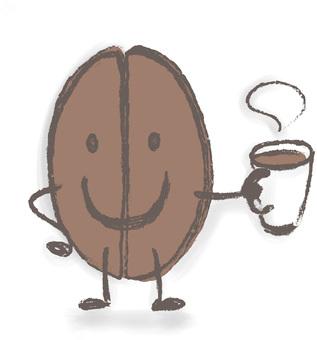 喝咖啡休息時間