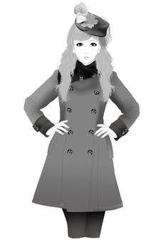 婦女插圖68