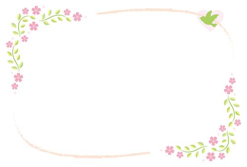 Free illustrations Leaf frame decorations