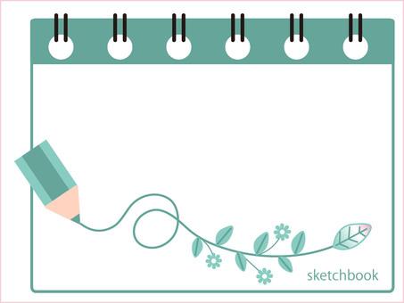 Sketchbook autumn image