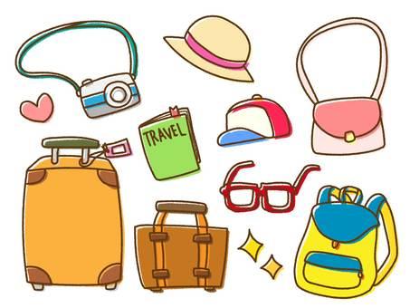 Loose travel illustration
