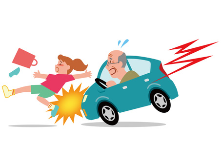 Traffic Accident of Elderly Driver - 8