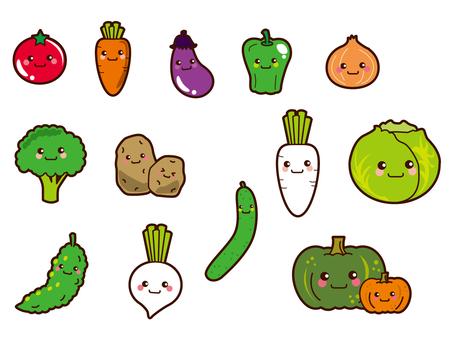 蔬菜的插图