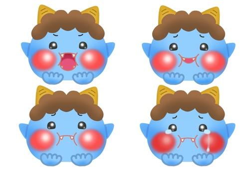 Cute blue demon (1)