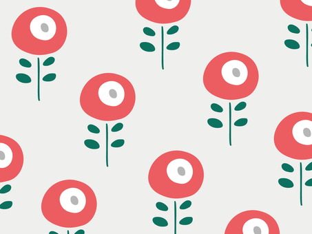 Nordic floral simple wallpaper pattern 13