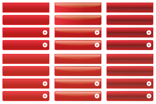 Button set - red