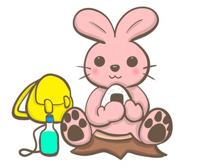 兔子吃湯圓