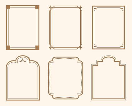 Simple frame 4