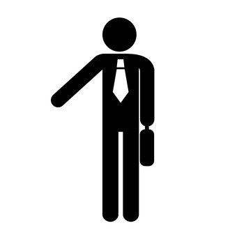 Pictogram (salaried worker)