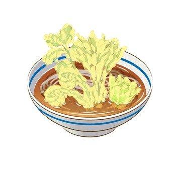 Wild vegetable tempuraoba