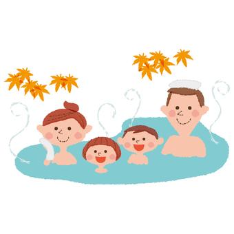 가족 온천