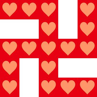 Swastika _ heart
