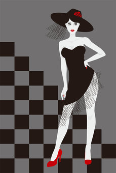High-heeled lady 4