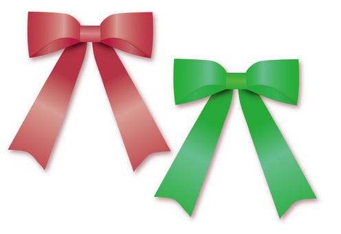 Ribbon (red / green)
