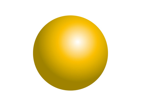 Solid sphere (4) yellow