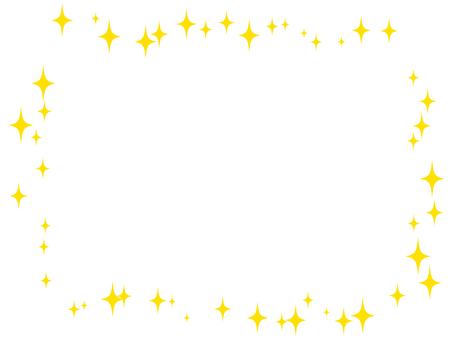 Glitter - square frame 02
