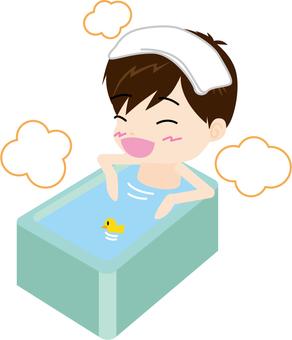 Bathing (male)