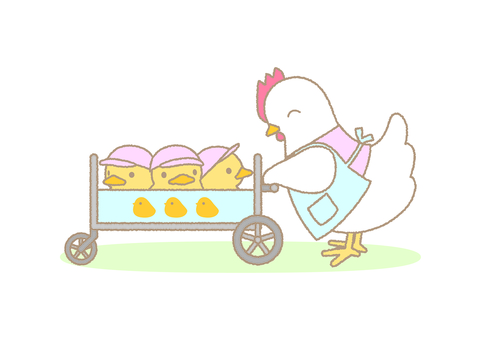 Chick going out