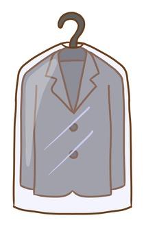 ジャケット(衣類カバー付き)