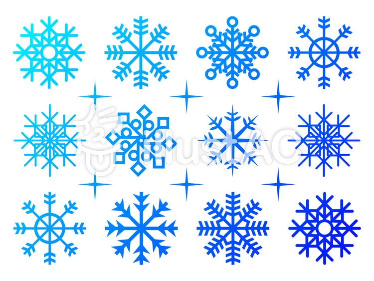 雪 結晶イラスト No 948693無料イラストならイラストac