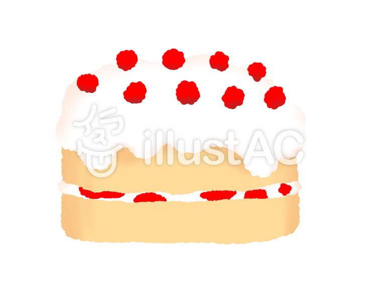 かわいいケーキイラスト No 1221652無料イラストならイラストac