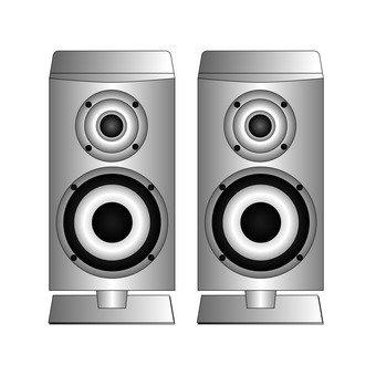 Speaker (silver)