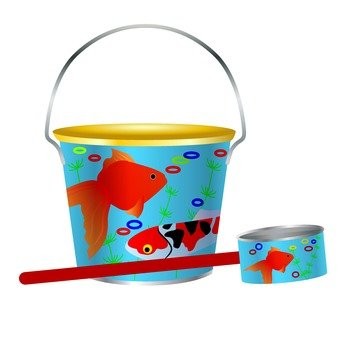 Tin plating bucket and chewing cheese