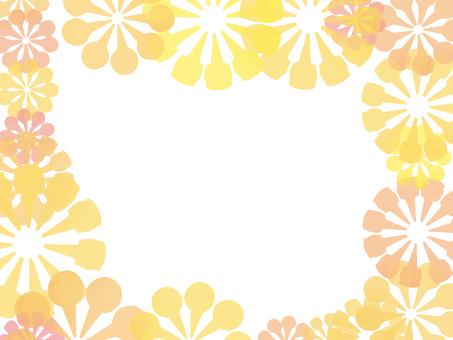 花枠(オレンジ)