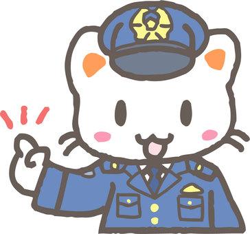 Policeman's cat (check)