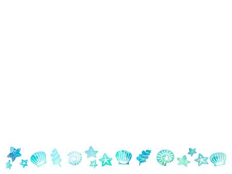 Seashell frame ver 02